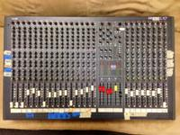 For sale: 24 Channel Soundcraft Mixing Console in good