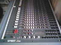 Soundcraft Spirit Live 24 channel Mixing console /