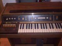 Organ is in really good shape if interested please call