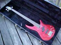 I have a Soundgear by Ibanez SR 300 DX four string