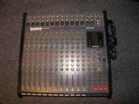 For sale is a Soundtech ST122T 12 channel stereo mixer