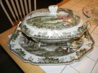 $500.00 for the set. If sold seperately, the Tureen is