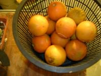 Sour Mandarin Oranges as Cleaning Agent for Pots and