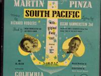 South Pacific 45 RPM Box Set 7 Records Columbia Records