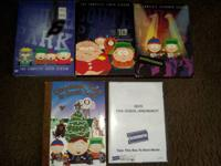 3 seasons of South Park (6th, 10th, and 11th)