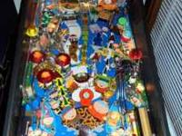For sale is a south park pinball machine.WARNING Not