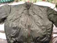 i have a south pole flight jacket in perfect shape wore