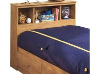 This Little Treasures Country PIne Bookcase headboard