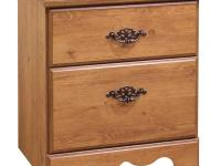 This Prairie Country Pine Night Stand provides ample