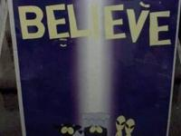 "I am currently selling a South Park ""Believe"" poster."