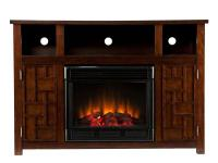 This multipurpose Media Fireplace is as beautiful as it