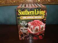 These are nine good condition Southern Living Annual