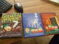 Southpark Box sets in Like new condition. $10 each or