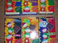Southpark vhs volumes 1-6 excellent cond first $15