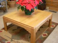 Description Southwestern Oak Wood Coffee Table 75.