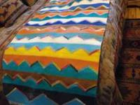 southwestern rug/wall hanging, very large, over 7feet