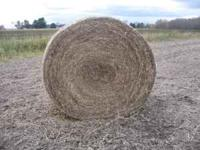 Soybean Straw Round Bales Net Wrapped. Good For