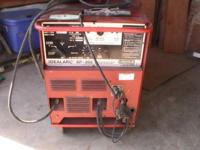 Lincoln Idealarc SP-200 Included is tank, welding