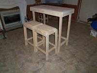 Short on Space? Bistro Table 36 inches Long 19 inches