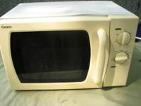 This microwave will certainly fit any counter-space,