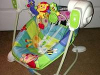 Fisher Price Discover and Grow Swing and Seat $40,