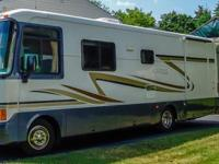 Very nice 2000 Holiday Rambler 30' Gas pusher with