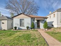 Spacious & adorable, one level home! Location: Bevo