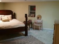 Newly renovated unfurnished basement: livingroom,