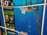 "Brand new basketball court New in box 50"" huge Retail"