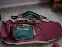 Spalding Travel Golf Bag with adjustable padded
