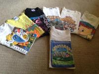 Vintage collection of (7) Spam-a-Rama T-Shirts
