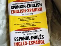 Spanish/English Dictionary in good condition. No marks