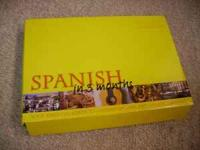 DK Spanish in 3 Months audio language course. Include 3