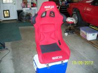 Sparco Evo xl FIA race seat in great condition. Couple