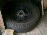 I have a spare tire 285/75/16 for a Chevy or GMC truck.