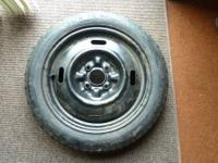 For sale is a spare tire for a 1991-1999 Nissan Sentra