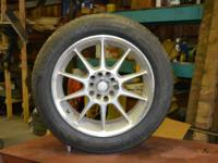 205/55/R16 MICHELIN PILOT EXALTO     ON  16 X 7 INCH