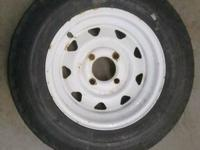 I have a spare tire for a pop up or boat trailer. Size