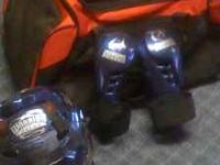 I have some miscellaneous used sparring equipment for