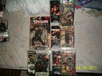 "I have Spawn/McFarlane`s action figures of ""The Dark"