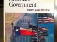 American Government: Roots and Reform ISBN# 1 -$60 OBO