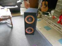 large speaker can handle 400 watts easy probably alot