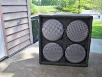 4 x 12 Speaker cabinet that hasn't been used much! I