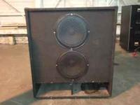 Giant Cabinets and Speakers 1 large speaker cab with