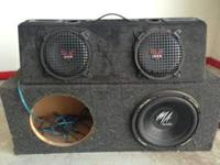 SPEAKERS AND SPEAKER BOX ITEMS WERE IN SON'S VEHICLE,