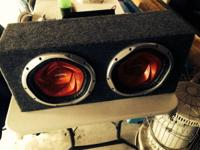 I have two ten inch subs with the amps and all wires