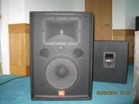Pair of JBL SR4726X Excellent Condition Never Around