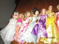 Unique Barbies and Kens 3.00 each. barbie steeds are