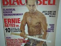 *.    BLACK BELT MAG May 2003 & April 2003. ~ unique &