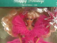 Special Edition 1990 Holiday Barbie. This Barbie doll